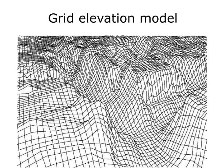Grid elevation model