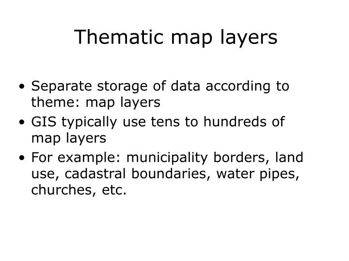 Thematic map la yers