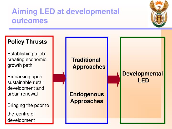 Aiming LED at developmental outcomes