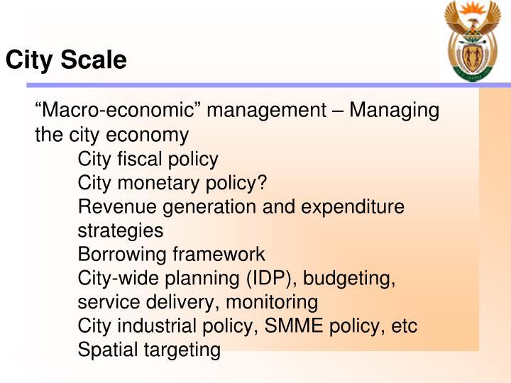 City Scale