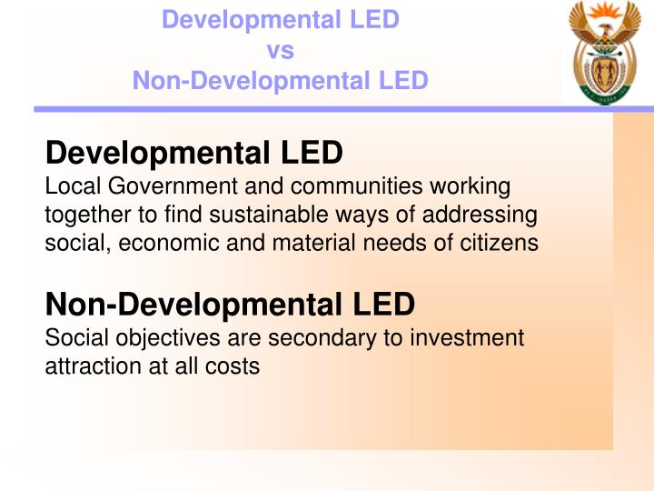 Developmental LED