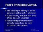 peel s principles cont d1
