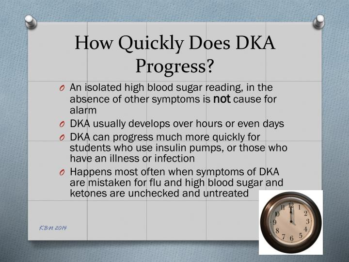 How Quickly Does DKA Progress?