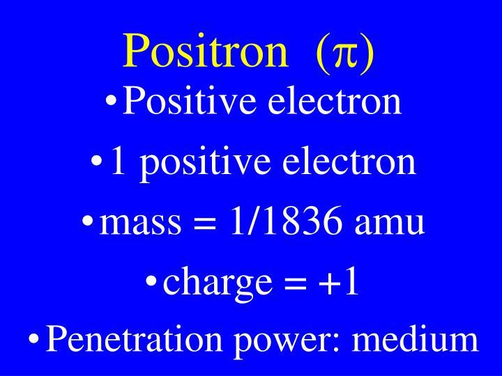 Positron  (