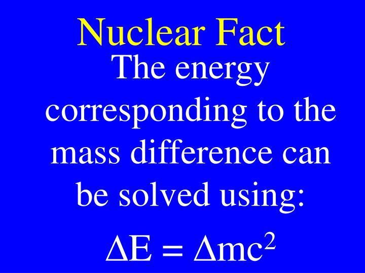 Nuclear Fact