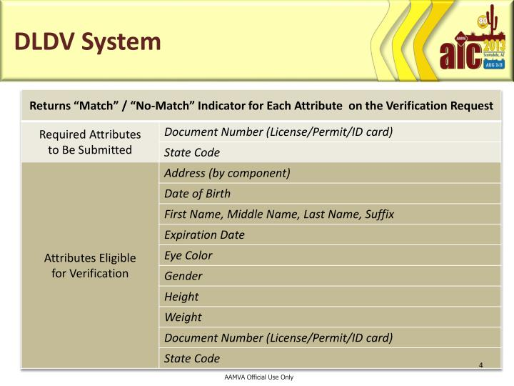 DLDV System
