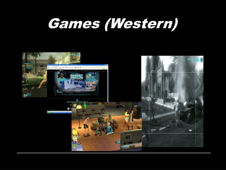 Games (Western)