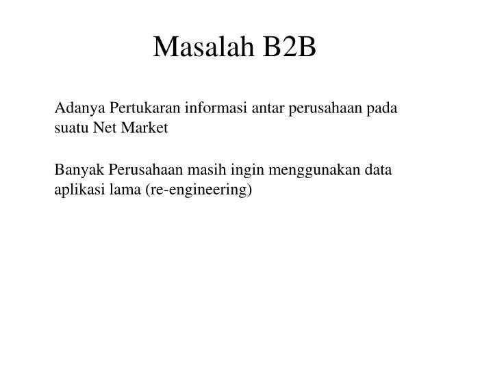 Masalah B2B
