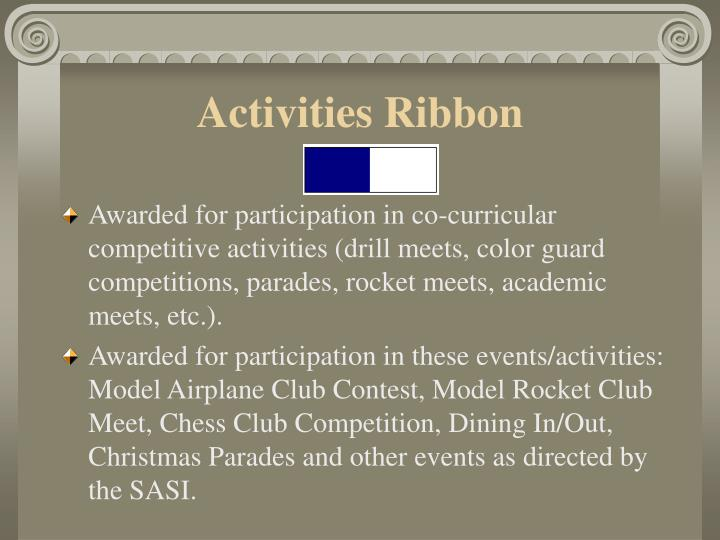 Activities Ribbon