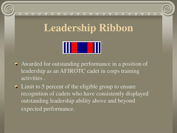 Leadership Ribbon