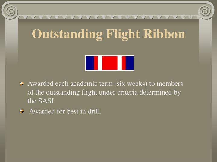 Outstanding Flight Ribbon