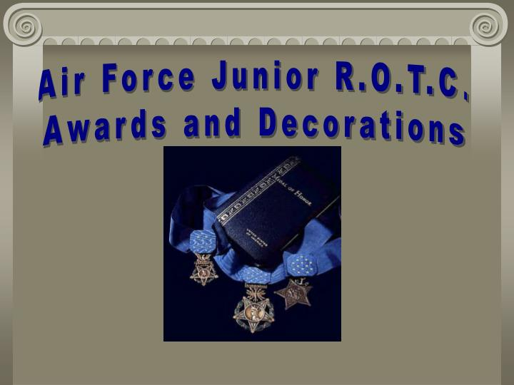 Air Force Junior R.O.T.C.
