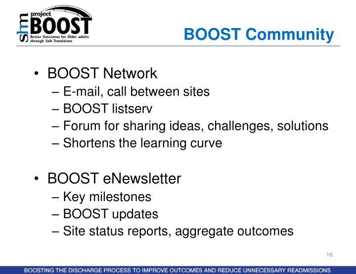 BOOST Community