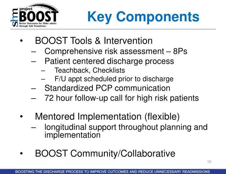 BOOST Tools & Intervention