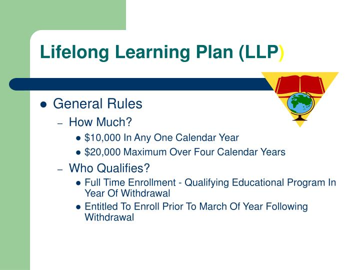 Lifelong Learning Plan (LLP