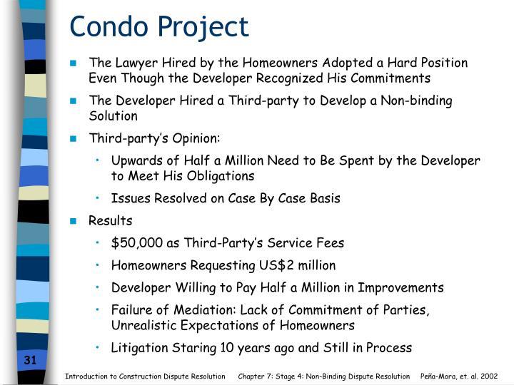Condo Project