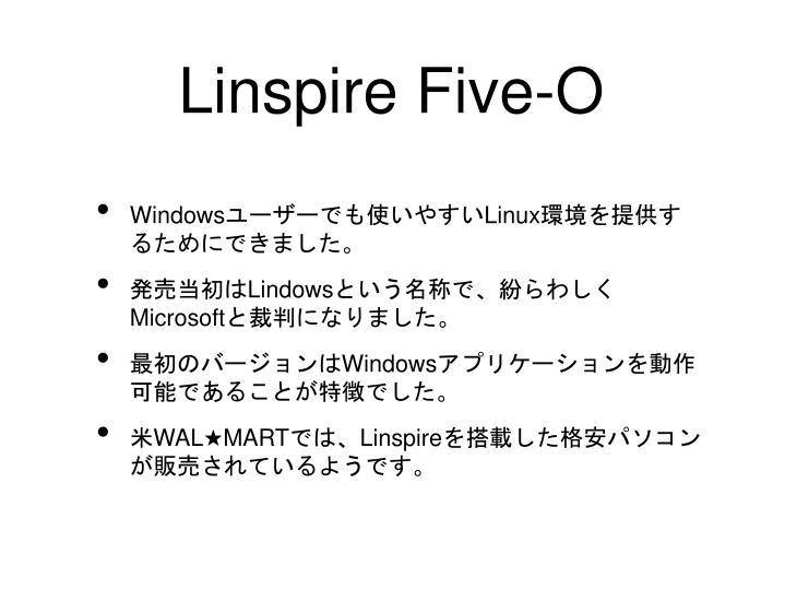 Linspire Five-O