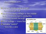 how transistors work don t sweat the details