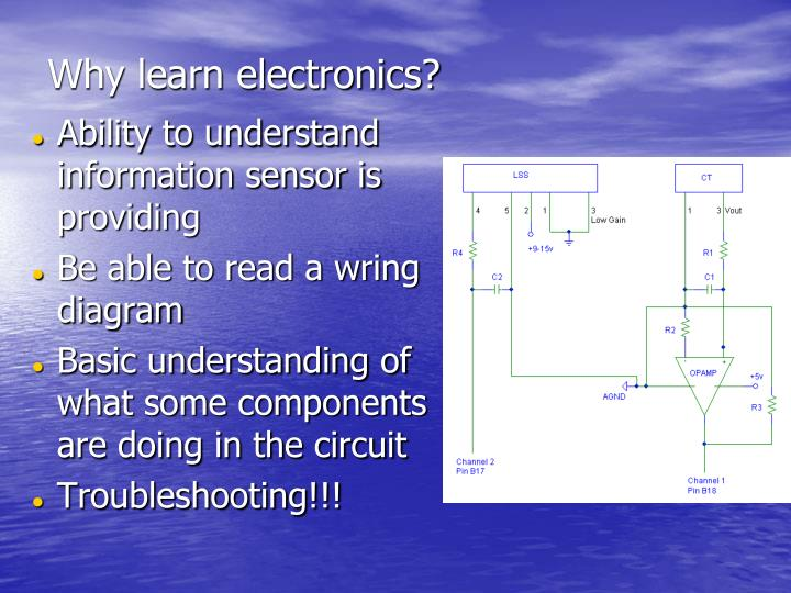 Why learn electronics?
