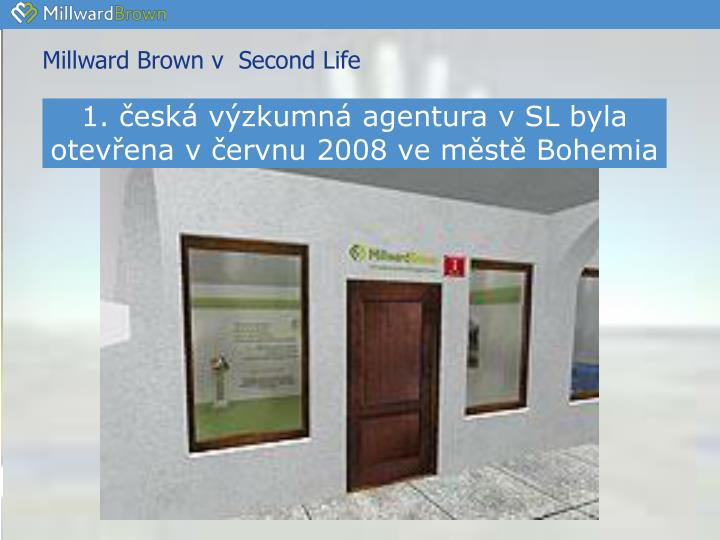Millward Brown v  Second Life