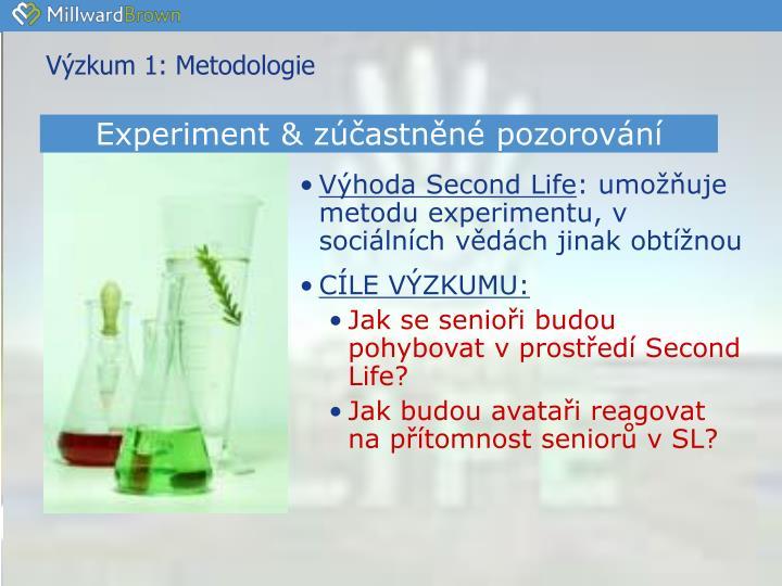 Výzkum 1:
