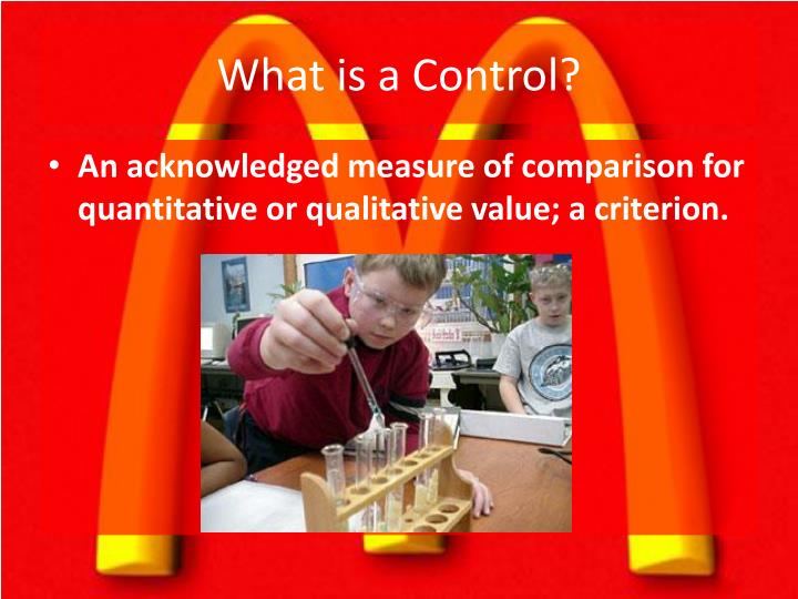What is a Control?