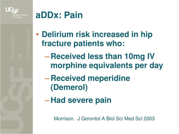 aDDx: Pain