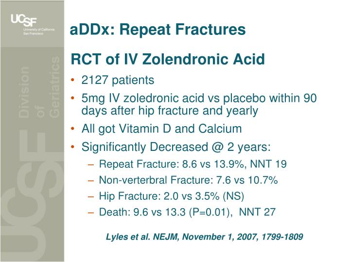 aDDx: Repeat Fractures