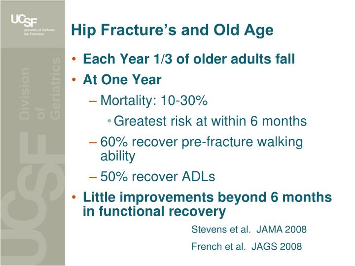 Hip Fracture's and Old Age