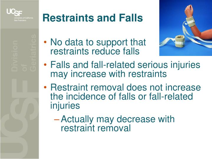 Restraints and Falls