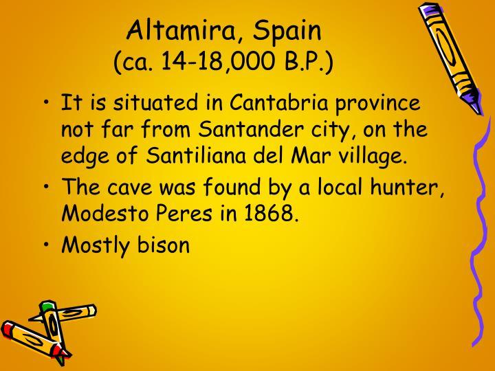 Altamira, Spain