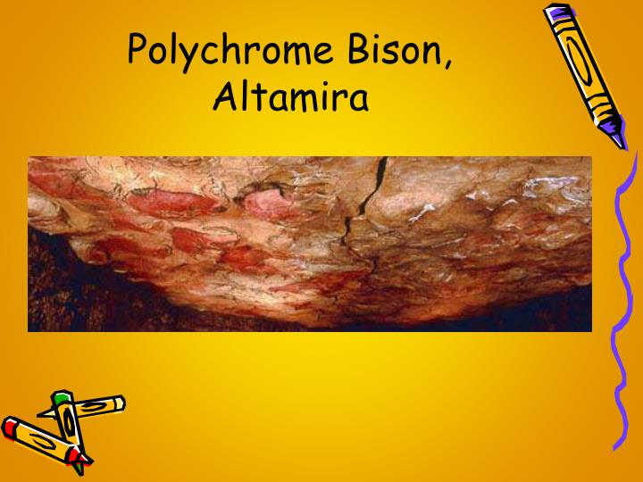 Polychrome Bison, Altamira