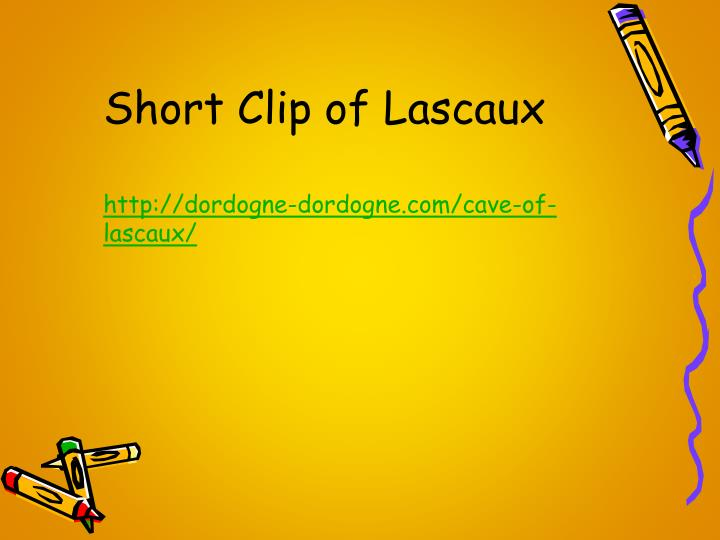 Short Clip of Lascaux