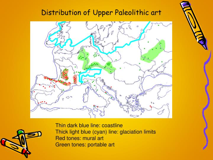Distribution of Upper Paleolithic art