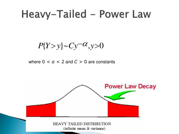 Heavy-Tailed - Power Law