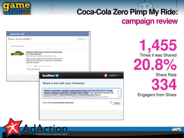 Coca-Cola Zero Pimp My