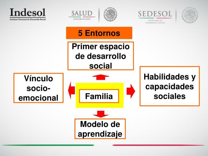 5 Entornos