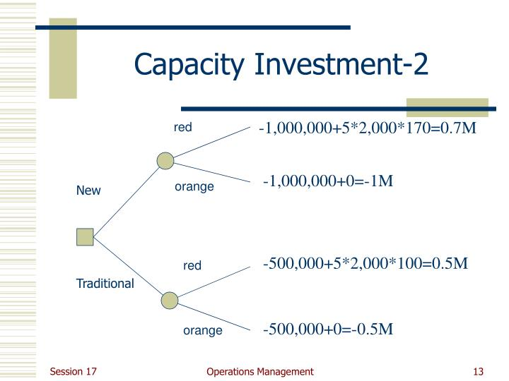 Capacity Investment-2