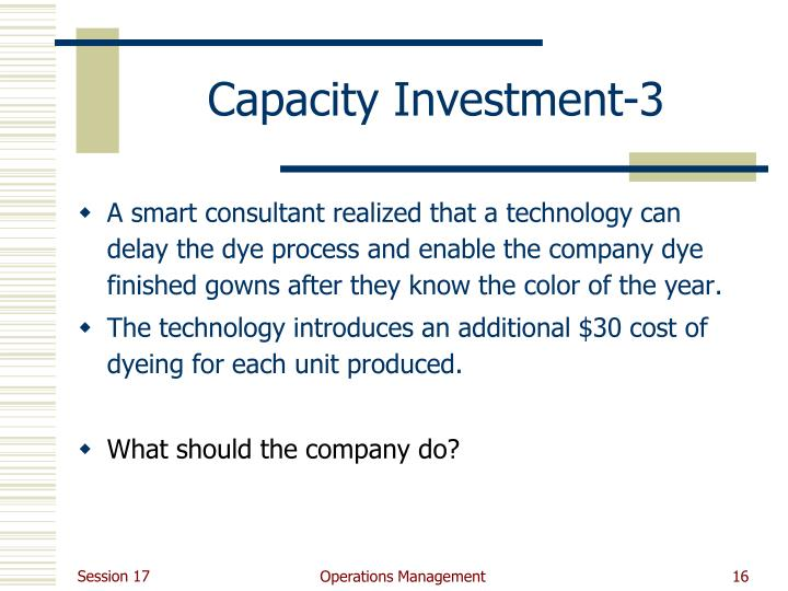 Capacity Investment-3