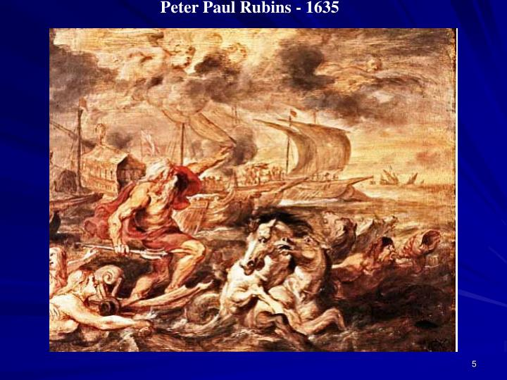 Peter Paul Rubins - 1635