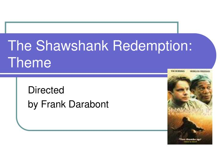 The shawshank redemption theme