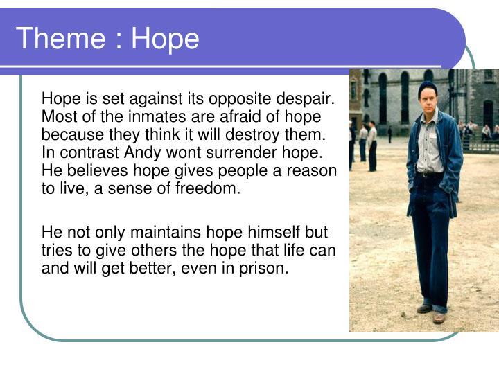 Theme : Hope