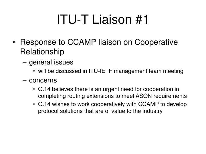ITU-T Liaison #1