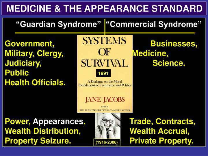 MEDICINE & THE APPEARANCE STANDARD