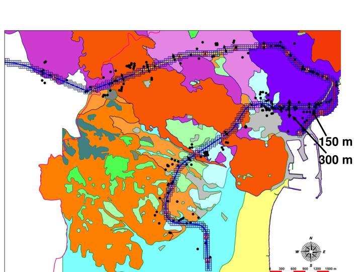 Simulazione del progetto della metropolitana di Catania;