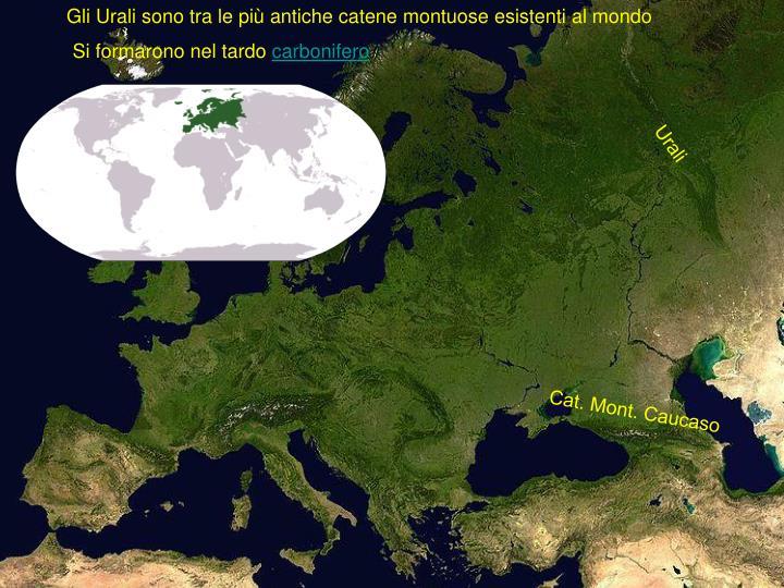 Gli Urali sono tra le più antiche catene montuose esistenti al mondo