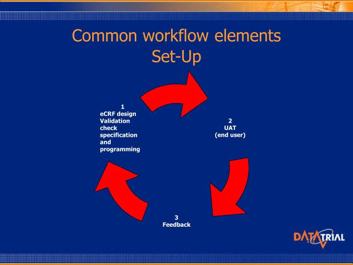 Common workflow