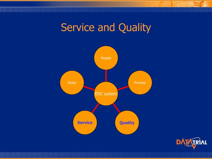 Service and Quality