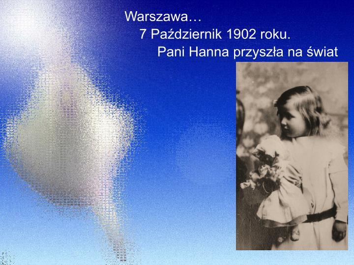 Warszawa…