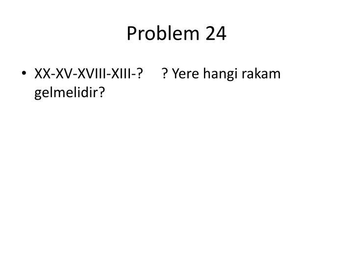 Problem 24